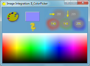 Программа определения кода цвета